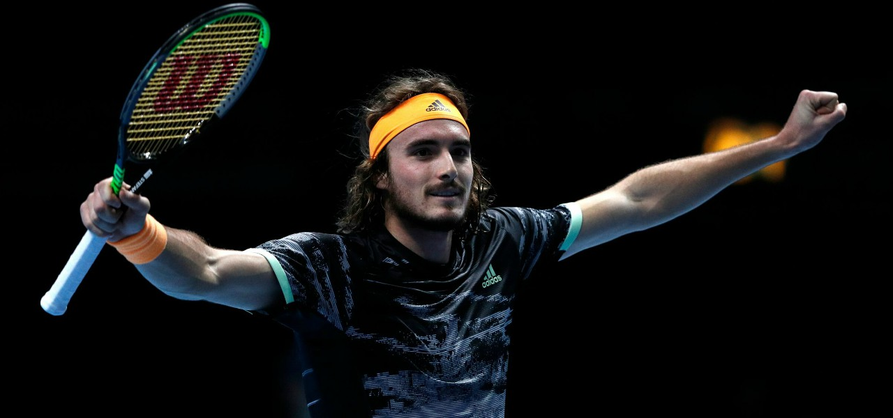 Stefanos Tsitsipas Atp Finals lapresse 2019