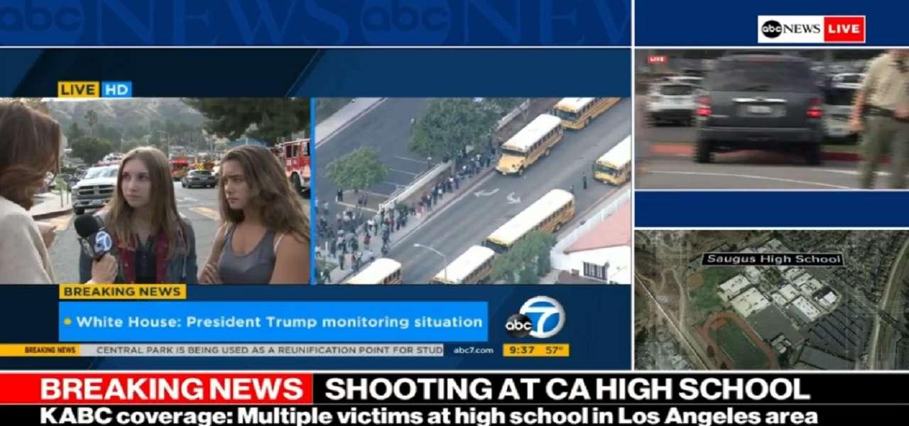 sparatoria scuola california