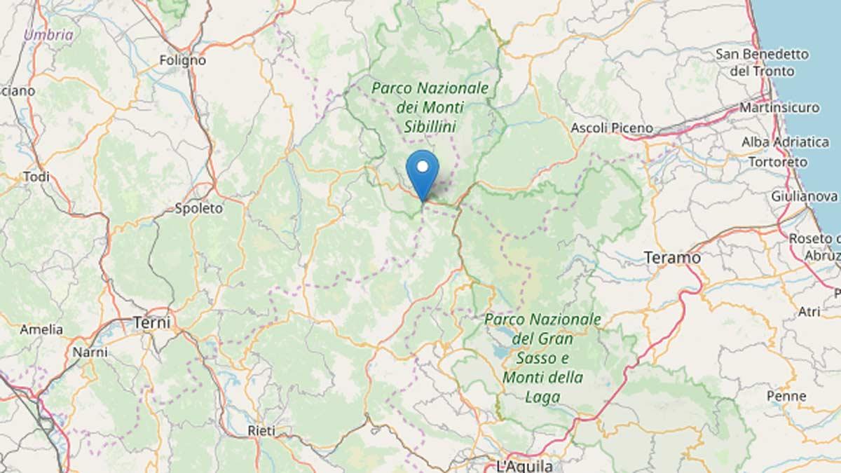 terremoto accumuli ingv