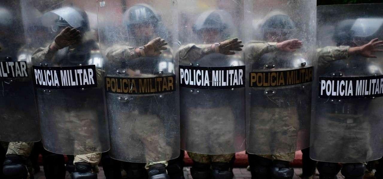 Bolivia Policia Lapresse1280
