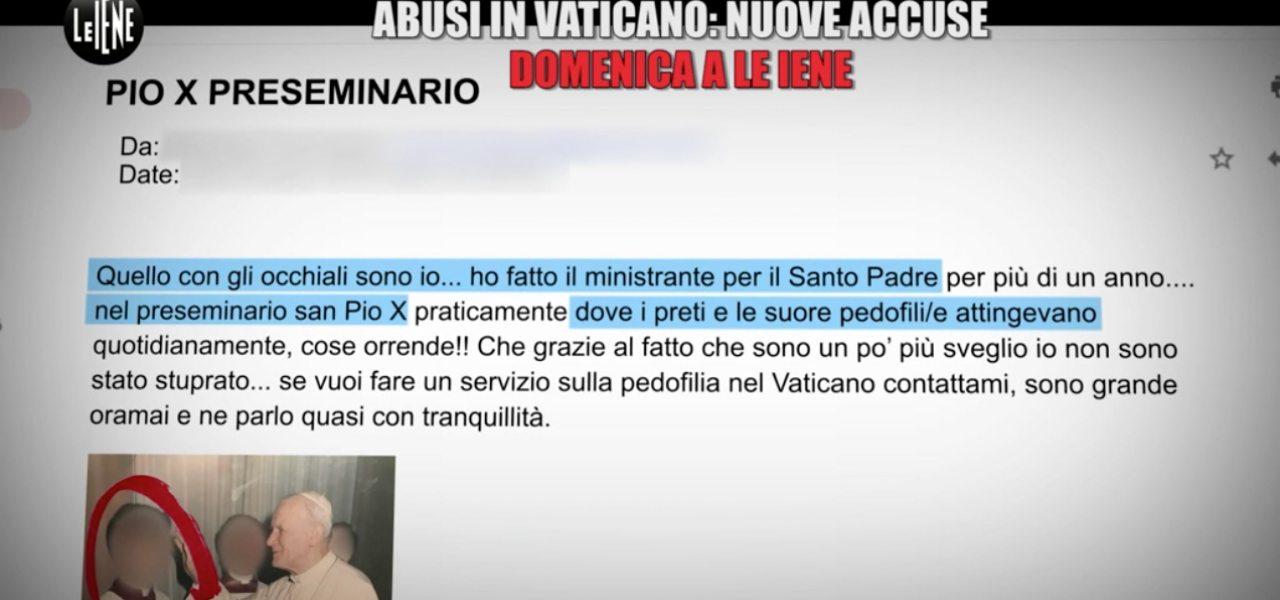 abusi vaticano 2019 iene