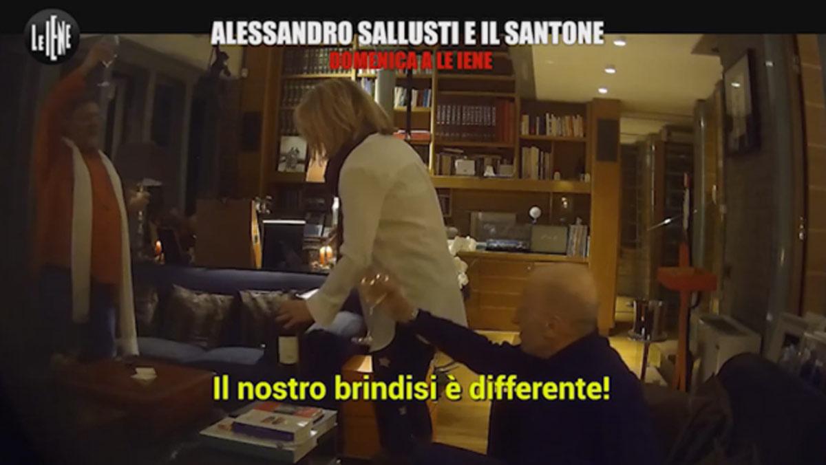 ALESSANDRO SALLUSTI, VIDEO SCHERZO LE IENE/ E se la ...