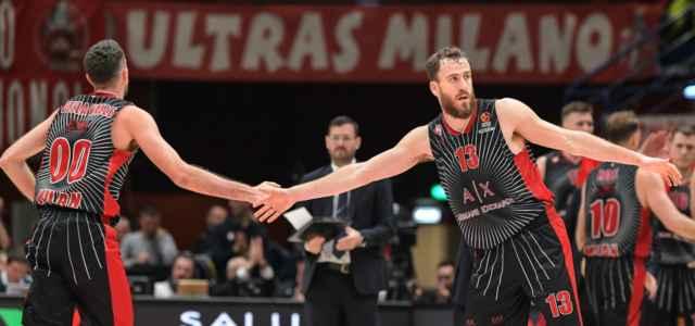 Della Valle Rodriguez Olimpia Milano Eurolega lapresse 2019 640x300