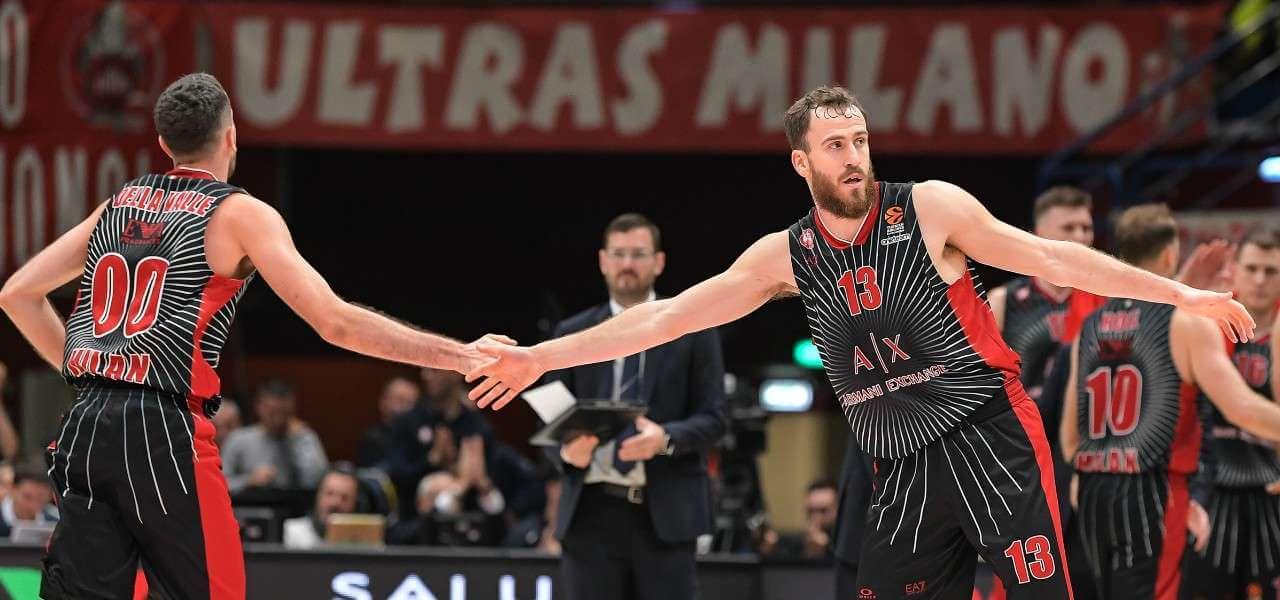 Della Valle Rodriguez Olimpia Milano Eurolega lapresse 2019