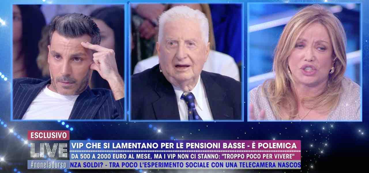 Daniele Interrante contro Gianfranco D'Angelo