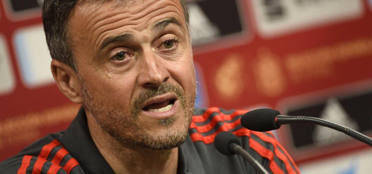 Luis Enrique ct della Spagna