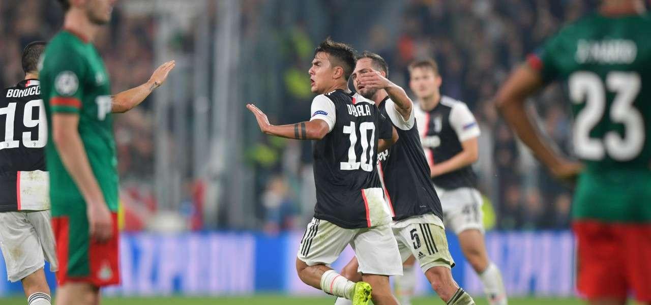 Dybala Pjanic gol Juventus Lokomotiv lapresse 2019