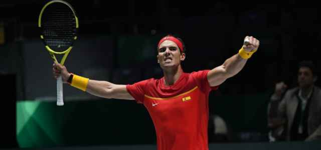 Rafa Nadal vittoria Spagna Coppa Davis facebook 2019 640x300