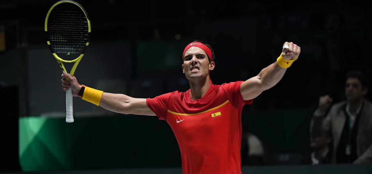Rafa Nadal vittoria Spagna Coppa Davis facebook 2019