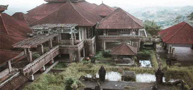 Ghost Palace Hotel in Indonesia