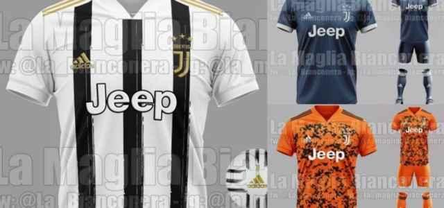 Juventus 2021: svelate le nuove maglie?/ Le foto delle divise: la ...