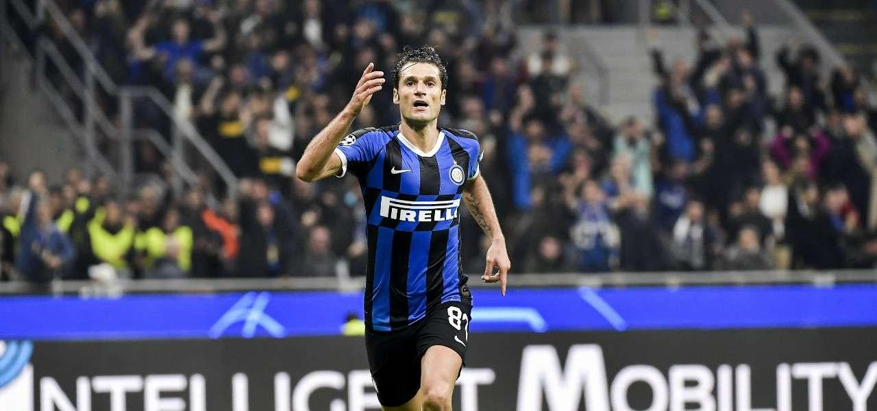 Candreva Inter gol Dortmund lapresse 2019