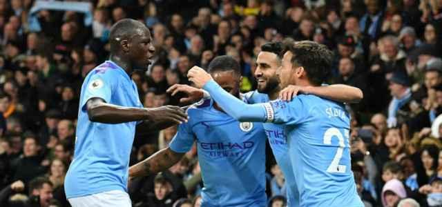 Mendy Sterling Walker David Silva Manchester City lapresse 2019 640x300