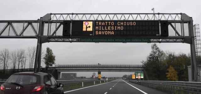 Caos autostrada a6