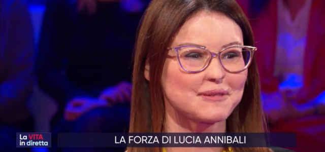 """Lucia Annibali a """"La Vita in Diretta"""""""