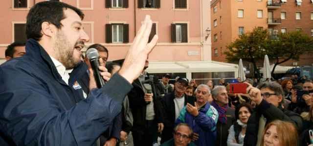 Salvini a Civitavecchia