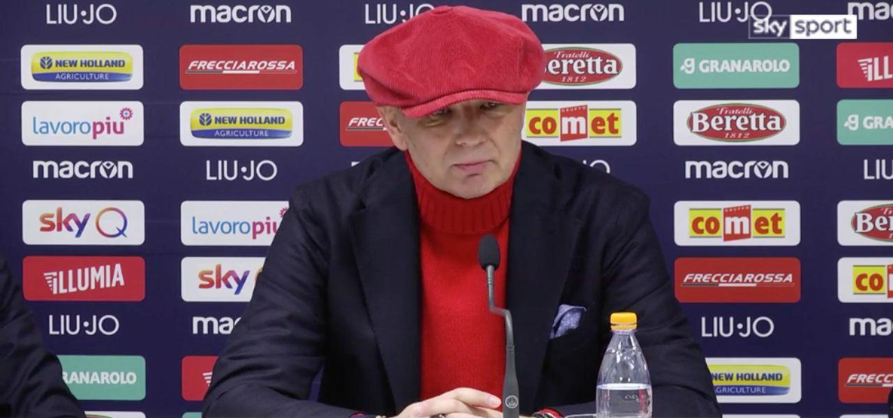 mihajlovic conferenza bologna