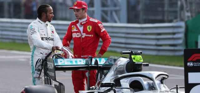 Hamilton Leclerc Formula 1