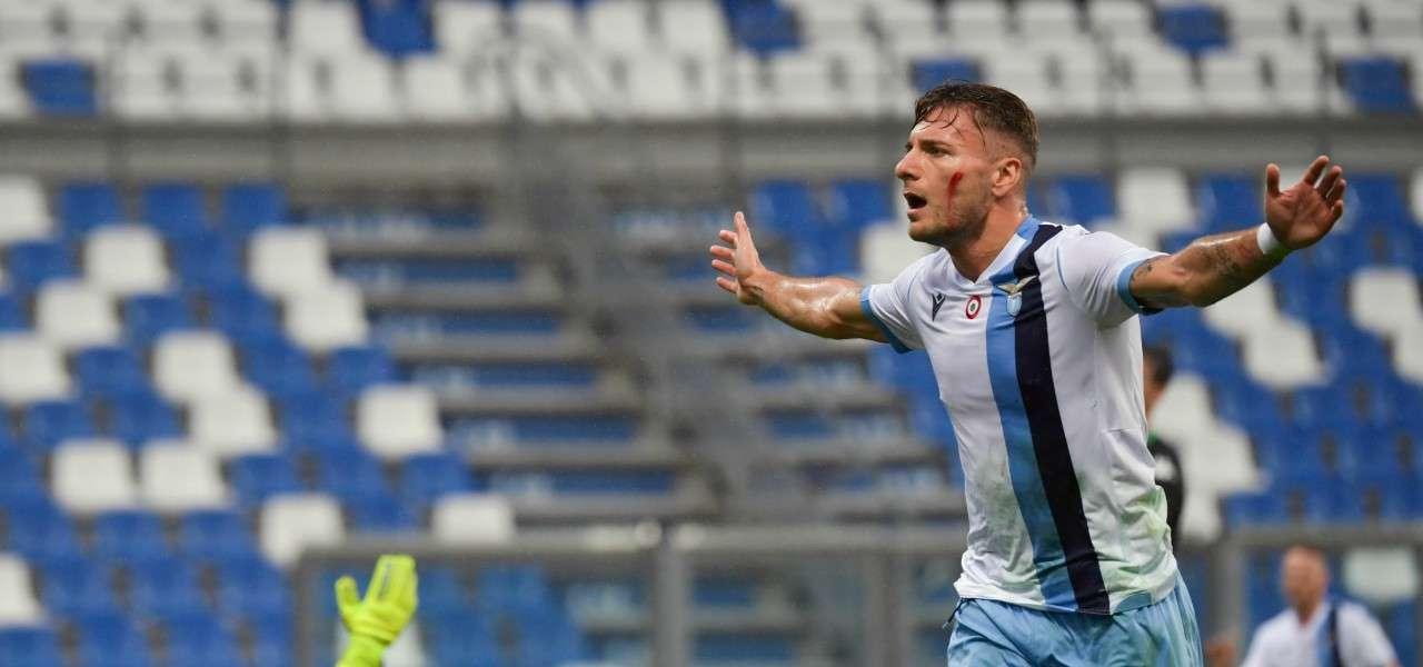 Ciro Immobile Lazio gol Udinese lapresse 2019