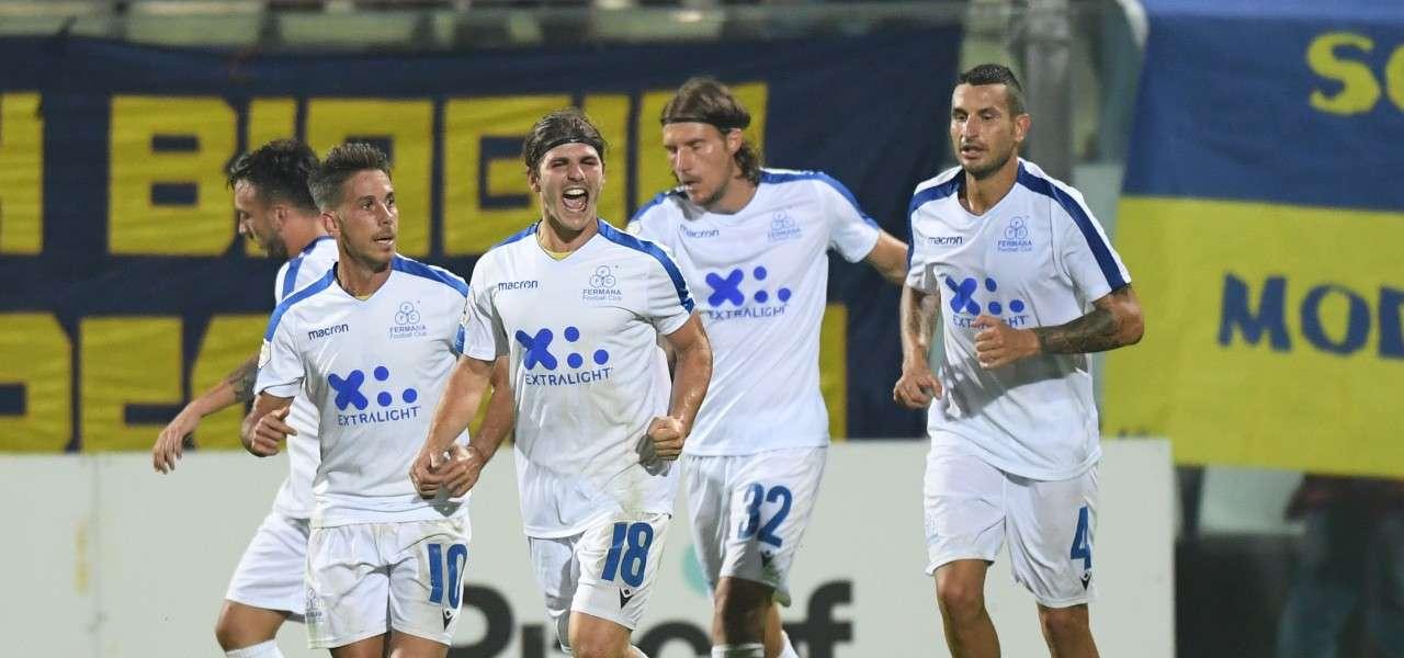 Persia gol Fermana bianca lapresse 2019