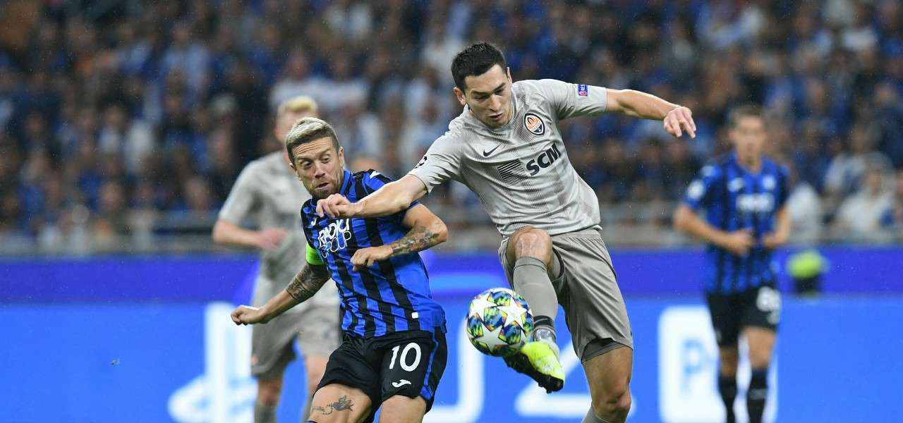 Gomez Stepanenko Atalanta Shakhtar lapresse 2019
