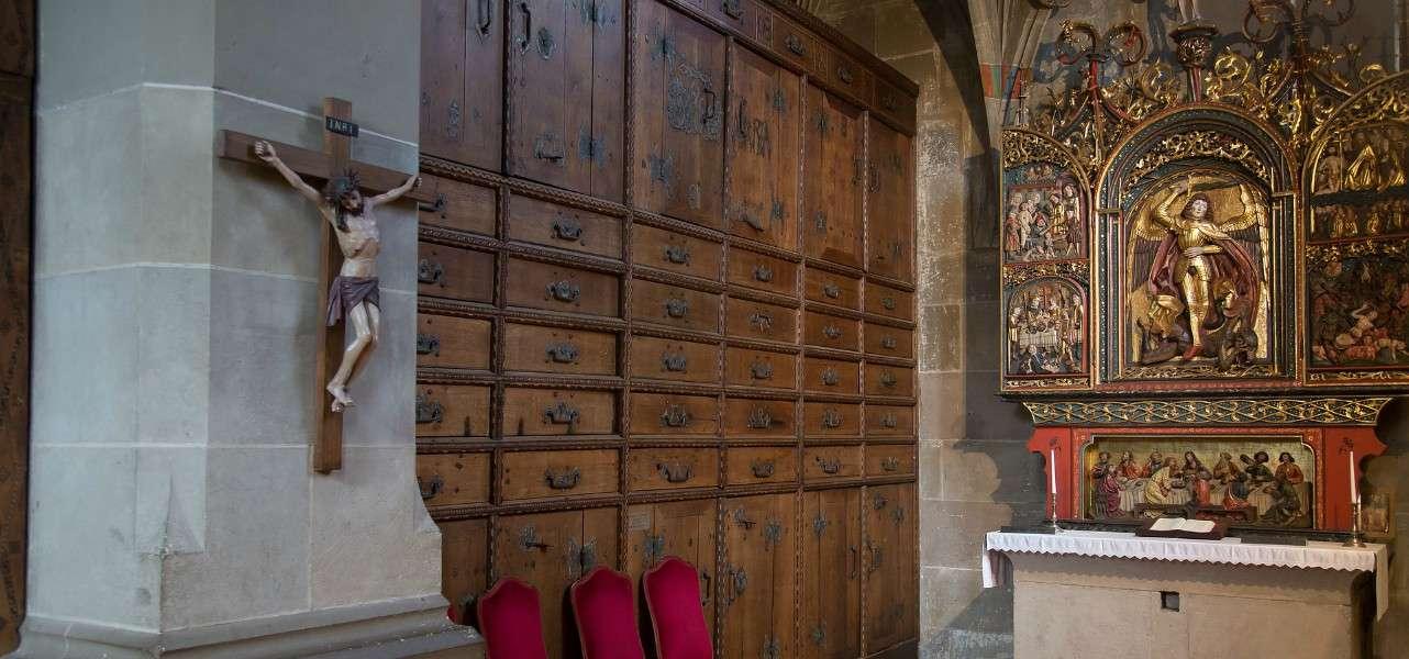 chiesa sacrestia schwabischhall stmichael pixabay1280