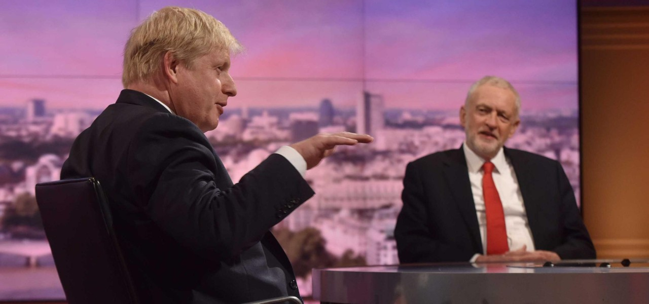 Johnson vs Corbyn