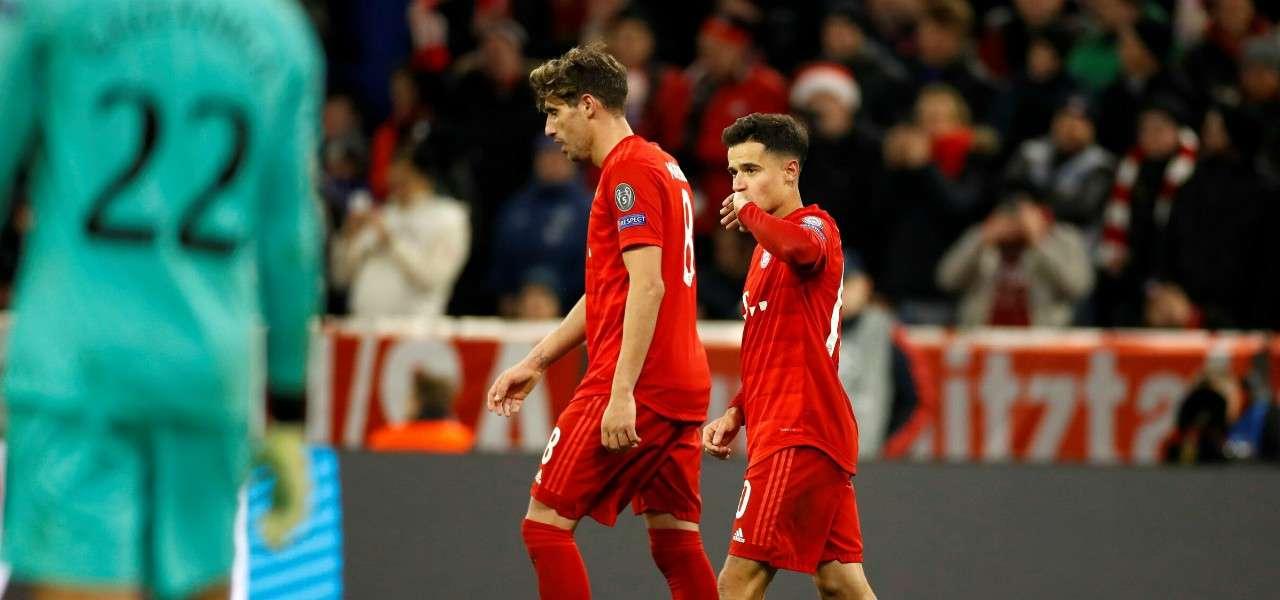 Coutinho Javi Martinez Bayern gol lapresse 2019