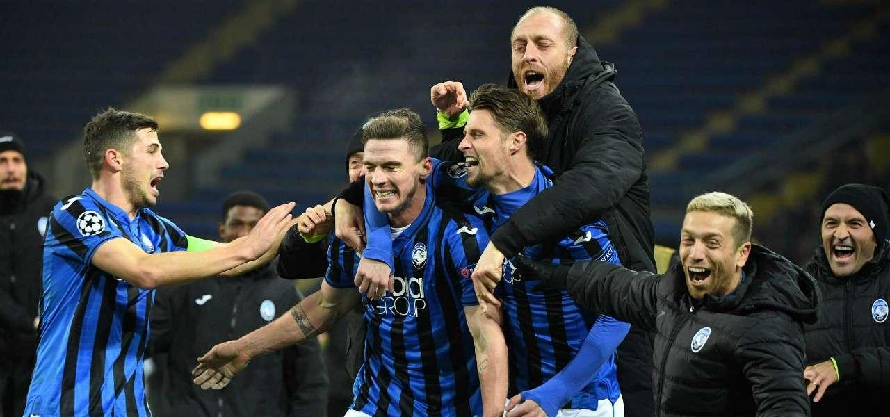 Freuler Gosens Hateboer Masiello Gomez Atalanta gol lapresse 2019