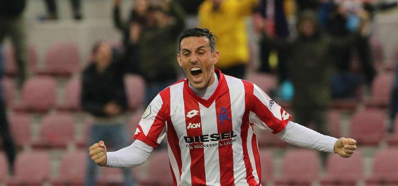 Simone Guerra Vicenza gol lapresse 2019