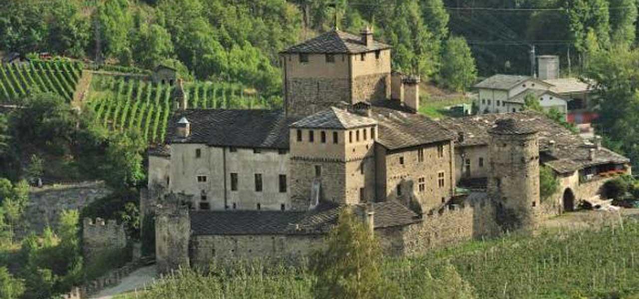Il Castello delle Sirene in Valle d'Aosta