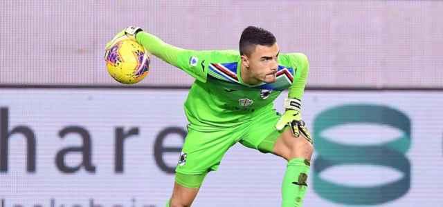 Emil Audero Sampdoria rinvio lapresse 2019 640x300