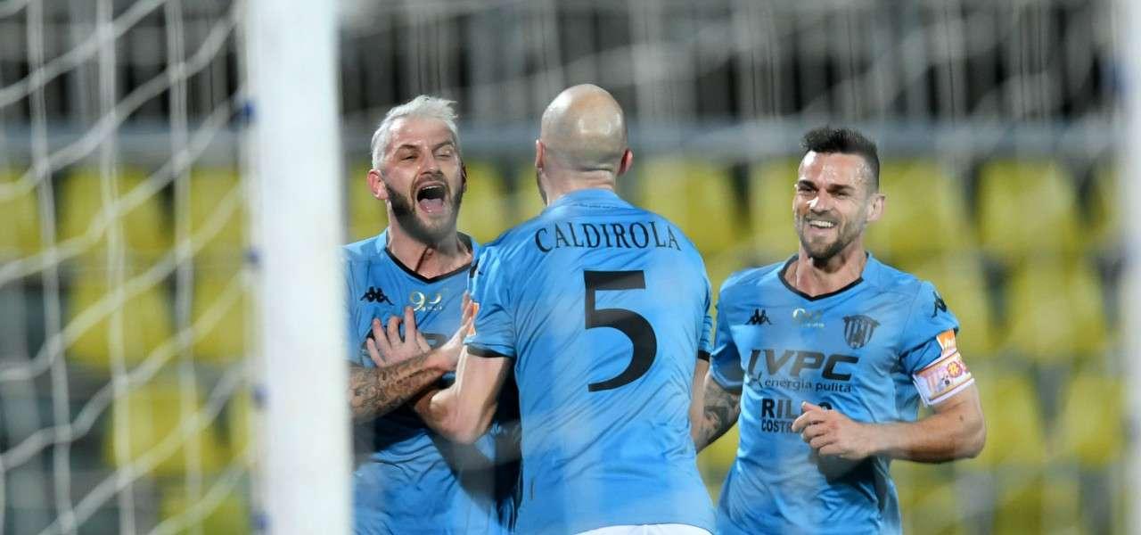 Kragl Caldirola Maggio Benevento gol lapresse 2019