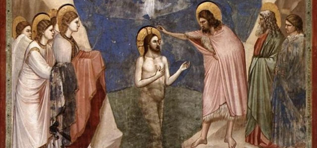 battesimo gesu 2019 iconografia