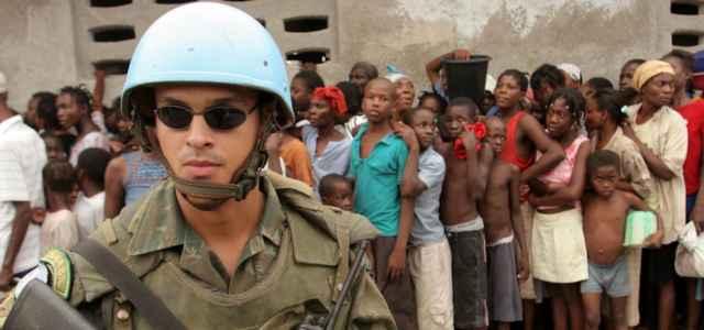 Caschi Blu Onu ad Haiti
