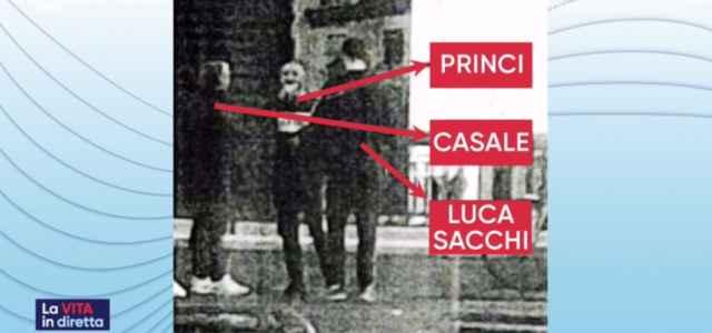 La foto dell'incontro con Fabio Casale