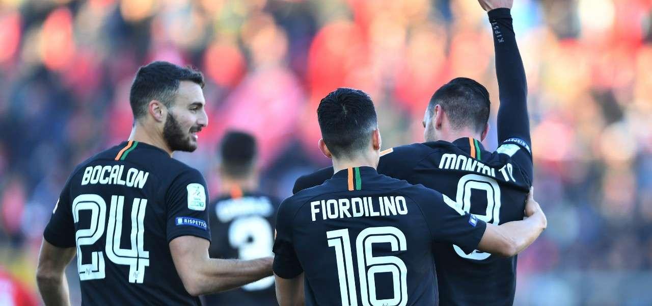 Montalto Fiordilino Venezia gol lapresse 2019