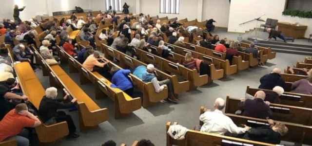 Attentato chiesa Texas
