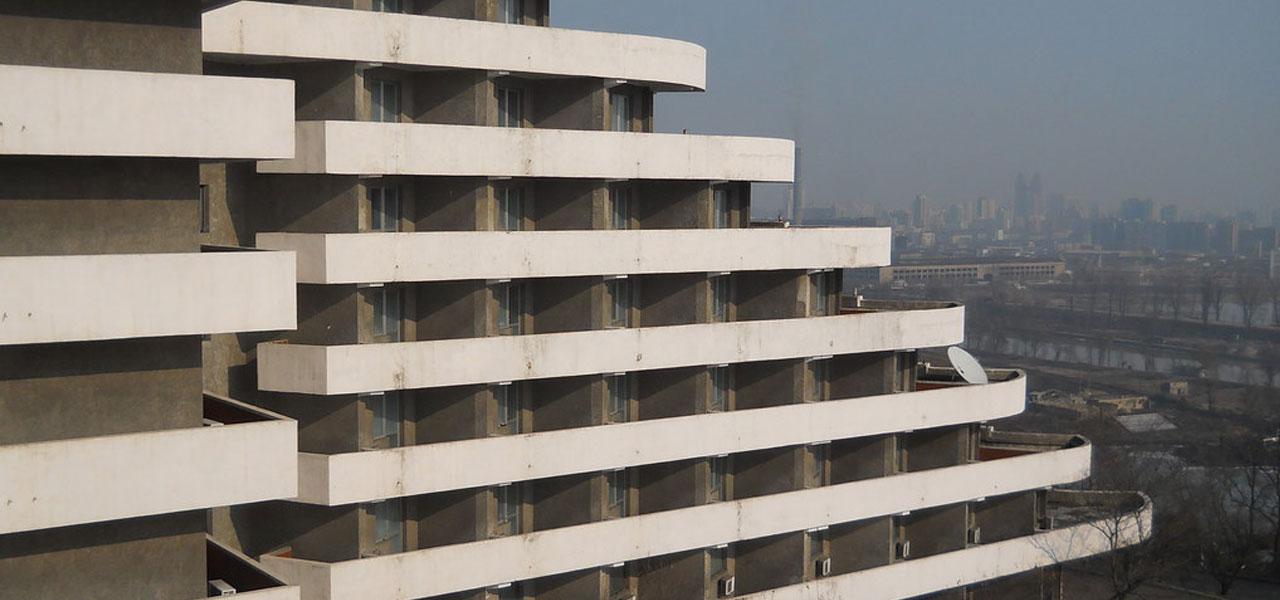 Ryanggang Hotel in Nord Corea
