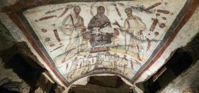 chiesa cristo catacombe 1 arte lapresse1280 640x300