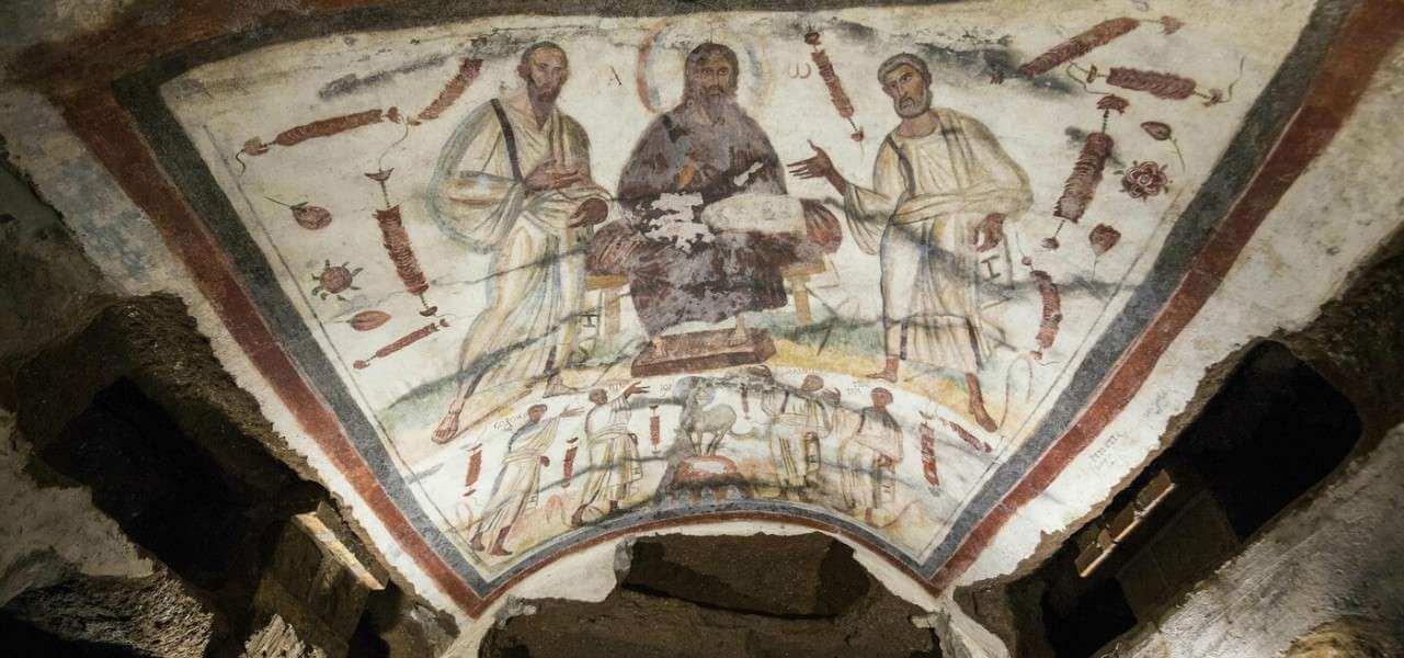 chiesa cristo catacombe 1 arte lapresse1280