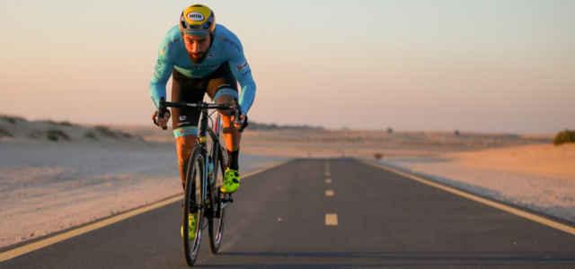 Il campione di bike trial Vittorio Brumotti