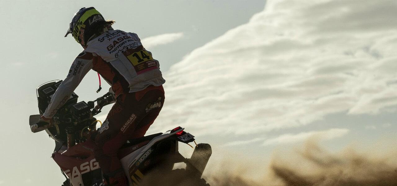 Dakar 2020 moto ombra lapresse 2020