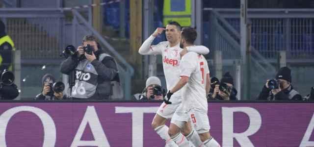 Ronaldo Pjanic Juventus gol bianca lapresse 2020 640x300