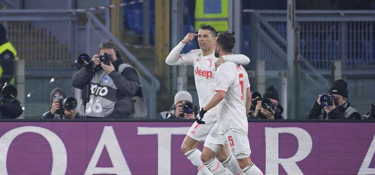 Ronaldo Pjanic Juventus gol bianca lapresse 2020