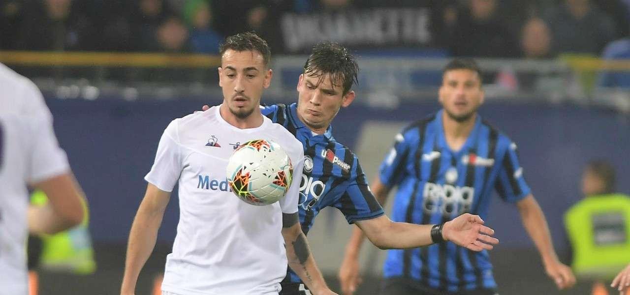Castrovilli De Roon Fiorentina Atalanta lapresse 2020