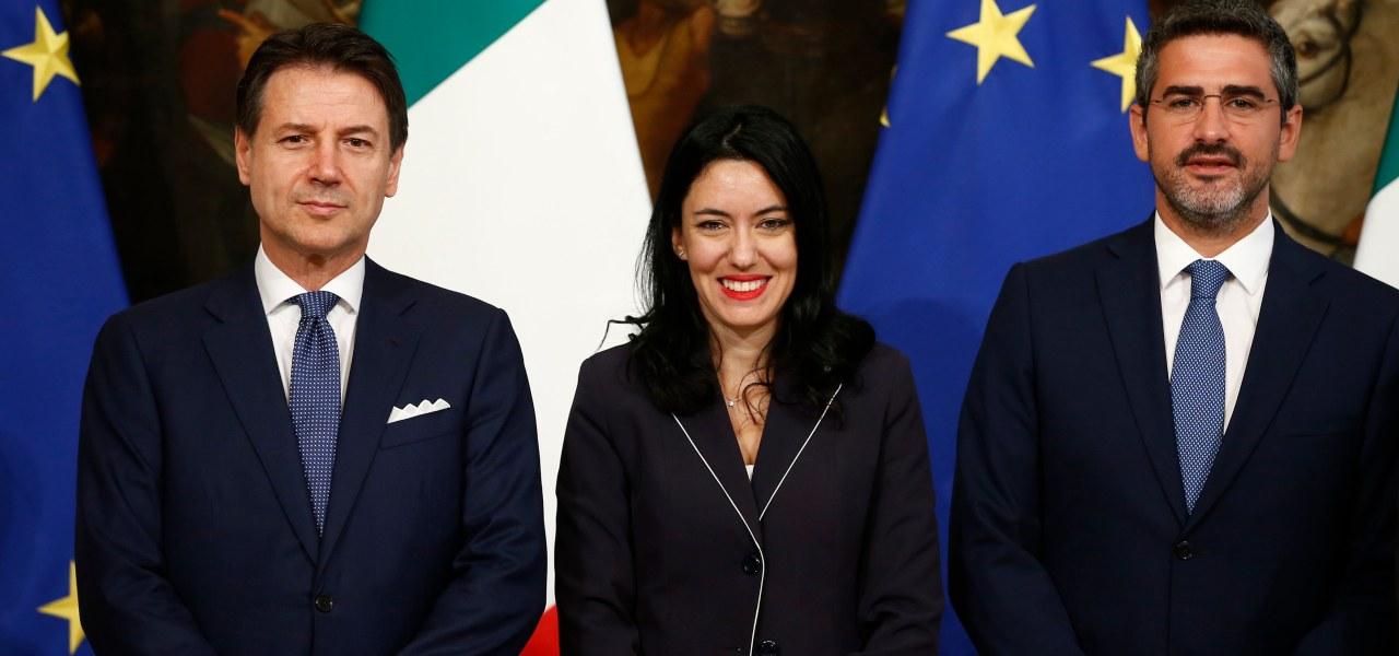 Azzolina, Conte, Fraccaro