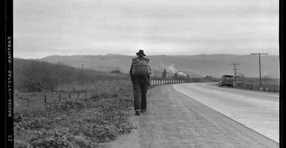 lange uomo cammina america 1936arteCMC580 580x300