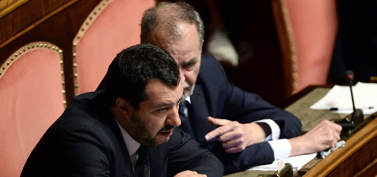 Salvini e Calderoli