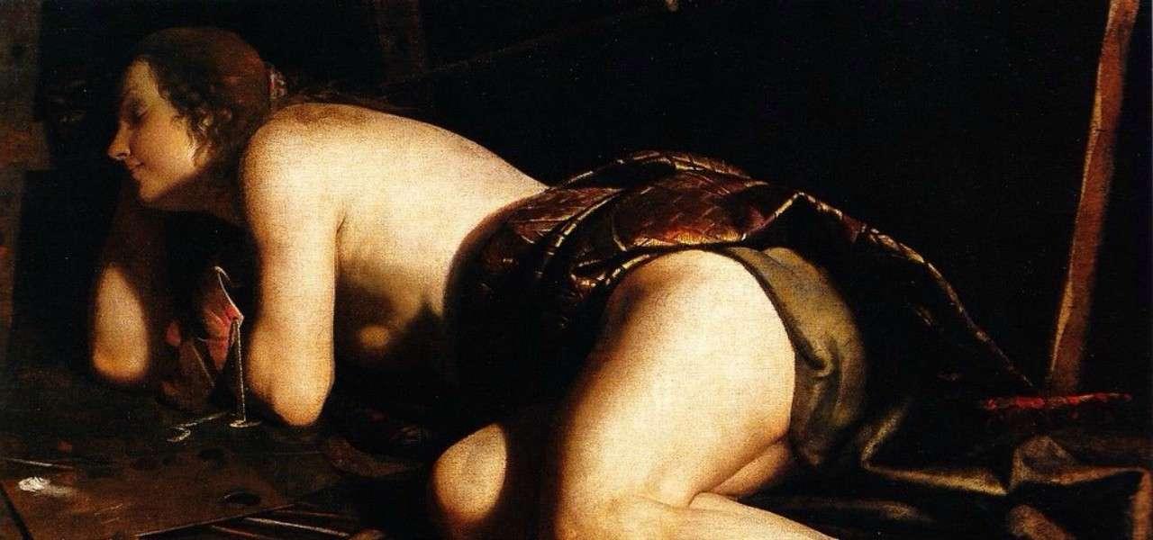 artemisia gentileschi allegoria pittura 1620arte1280